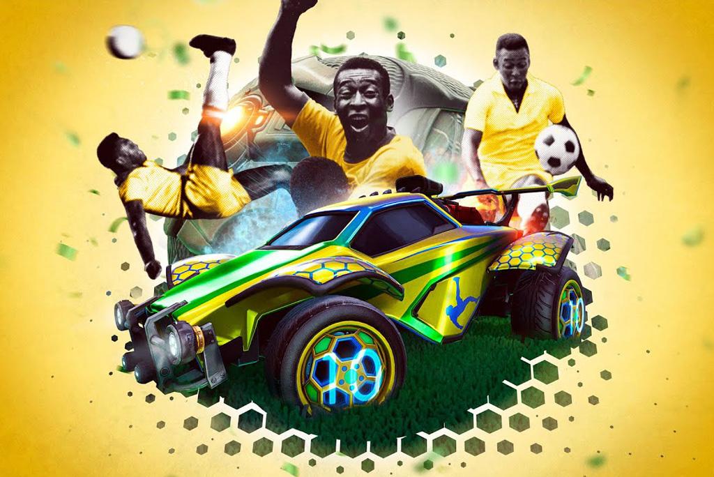 Psyonix Rocket League x Pelé
